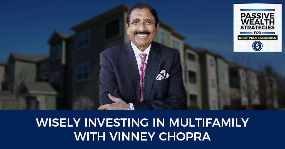 Vinney Chopra Podcast Title Card Multifamily